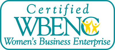 Proud to be certified as a WOMAN OWNED BUSINESS by the National WBENC